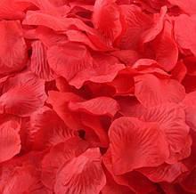 Красные лепестки роз 200шт.