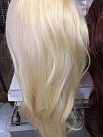 Голова учебная (иск. волосы, длинна 45 см.) белая