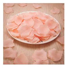 Персиковые лепестки роз 100шт.