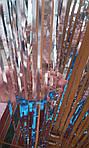 Дождик для фотозоны серебристый - (высота 1 метр, ширина 1 метр), двухсторонний, фото 3