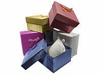 "Подарочная коробочка ""подушка"" Ажурная 9 х 9 х 5,5 см"
