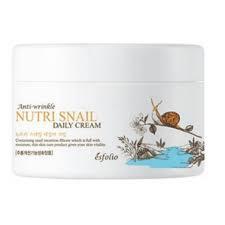 Питательный крем с улиточным муцином Esfolio Nutri Snail Daily Cream, 200ml
