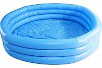 """Бассейн """"Голубой"""" в пакете 114*25 см. INTEX"""