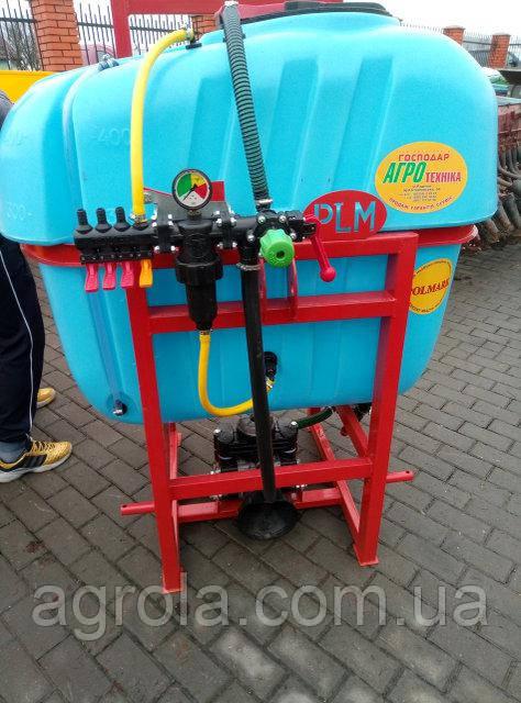 Опрыскиватель навесной полевой Polmark 400 литров 10 м