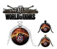 Кулон Мир танков World of Tanks с логотипом Wargaming , фото 1