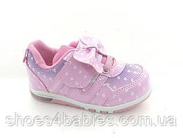 Детские кроссовки с мигалками для девочек р. 23, 25