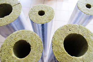 Базальтовая изоляция для труб с фольгированным покрытием от производителя