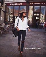 Женская белая рубашка, фото 1