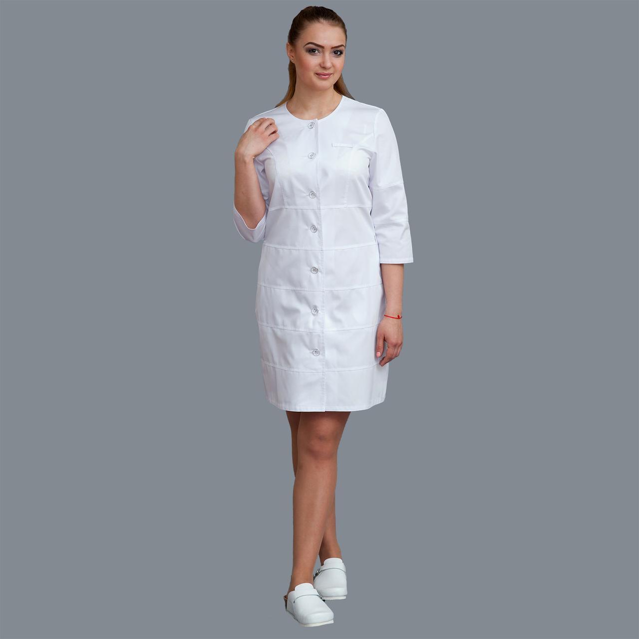 Медицинский женский халат Мелисса р 46