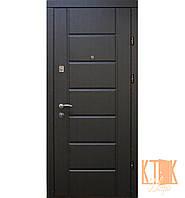 """Входная дверь в квартиру """"Канзас"""" серии """"Эконом"""" (венге)"""