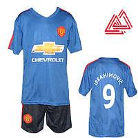 Футбольная форма для детей Ибрагимович Манчестер Юнайтед 6-15 лет  MC11811