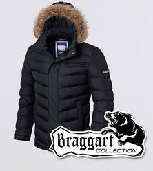 Куртка зимняя с опушкой Braggart 1919 черная