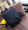 Стильный портфель для девушек розовый, фото 7
