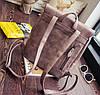 Стильный портфель для девушек розовый, фото 3