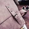Стильный портфель для девушек розовый, фото 5