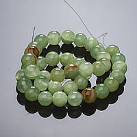 Бусины натуральный камень на нитке Оникс 12мм