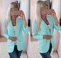 Женский  элегантный кардиган - пиджак, в расцветках , фото 1