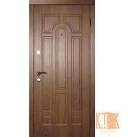 """Входная дверь на улицу """"Арка"""" серии """"Эконом"""" (ПВХ-02), фото 1"""