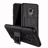 Чехол Samsung S9 / G960 противоударный бампер черный