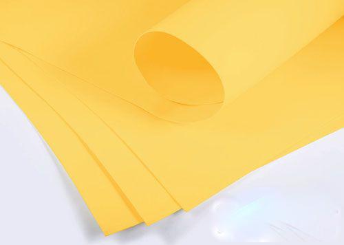 Фоамиран 2мм - листовой (1000*1500мм) желтый