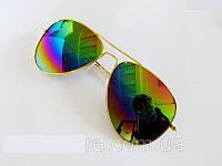 Очки капли Aviator солнцезащитные Rainbow G 2018