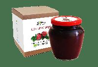 Брусничная паста 550 грамм «Liqberry», 100% ягоды брусники
