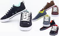 Кроссовки мужские кожаные 008-818 (обувь спортивная мужская): размер 40-45, 4 цвета