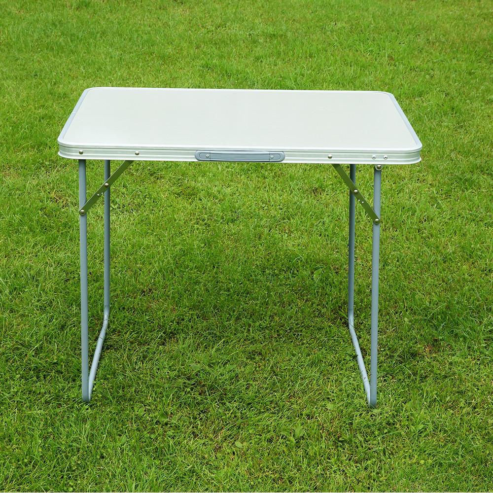 Стол для кемпинга  80х60см цвет мрамор