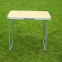 Стол для кемпинга  80х60см цвет орех