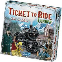 Настольная игра «Ticket to Ride: Европа»