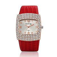 Женские часы GoGoey красный ремешок, фото 1