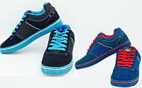 Кроссовки мужские кожаные Circa 818030 (обувь спортивная мужская): размер 40-45, 2 цвета