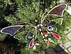 Бабочки - декор для клумбы, цветника