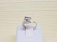 Серебряное кольцо с фианитами. Артикул 19201р 15, фото 1