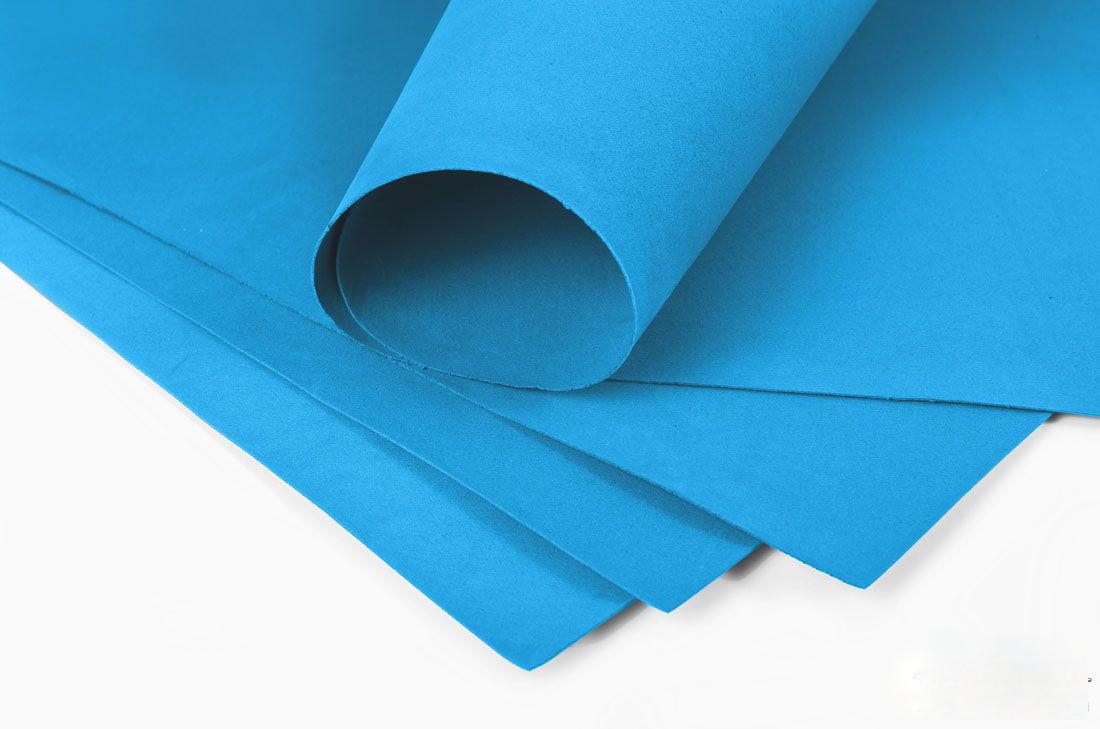 Фоамиран 2мм - листовой (1000*1500мм) синий