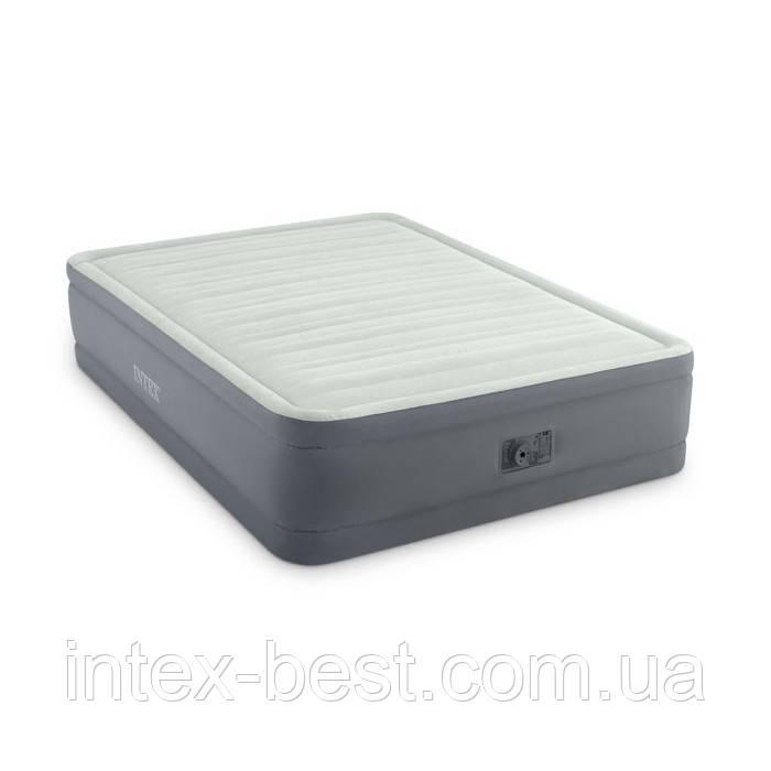 Intex 64906 надувная кровать Premaire Elevated Airbed 152х203х46см