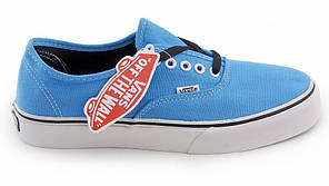 Женские кеды Vans AUTHENTIC Light Blue, Ванс Аутентик, фото 3