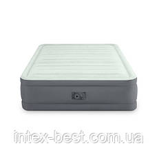 Intex 64906 надувная кровать Premaire Elevated Airbed 152х203х46см, фото 2