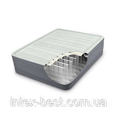 Intex 64906 надувная кровать Premaire Elevated Airbed 152х203х46см, фото 3
