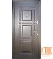 """Входная дверь в квартиру """"Квадро"""" серии """"Оптима плюс"""" (венге), фото 1"""