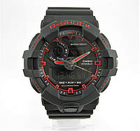 Часы Casio G-Shock GA-700 Black/Red. Реплика, фото 1