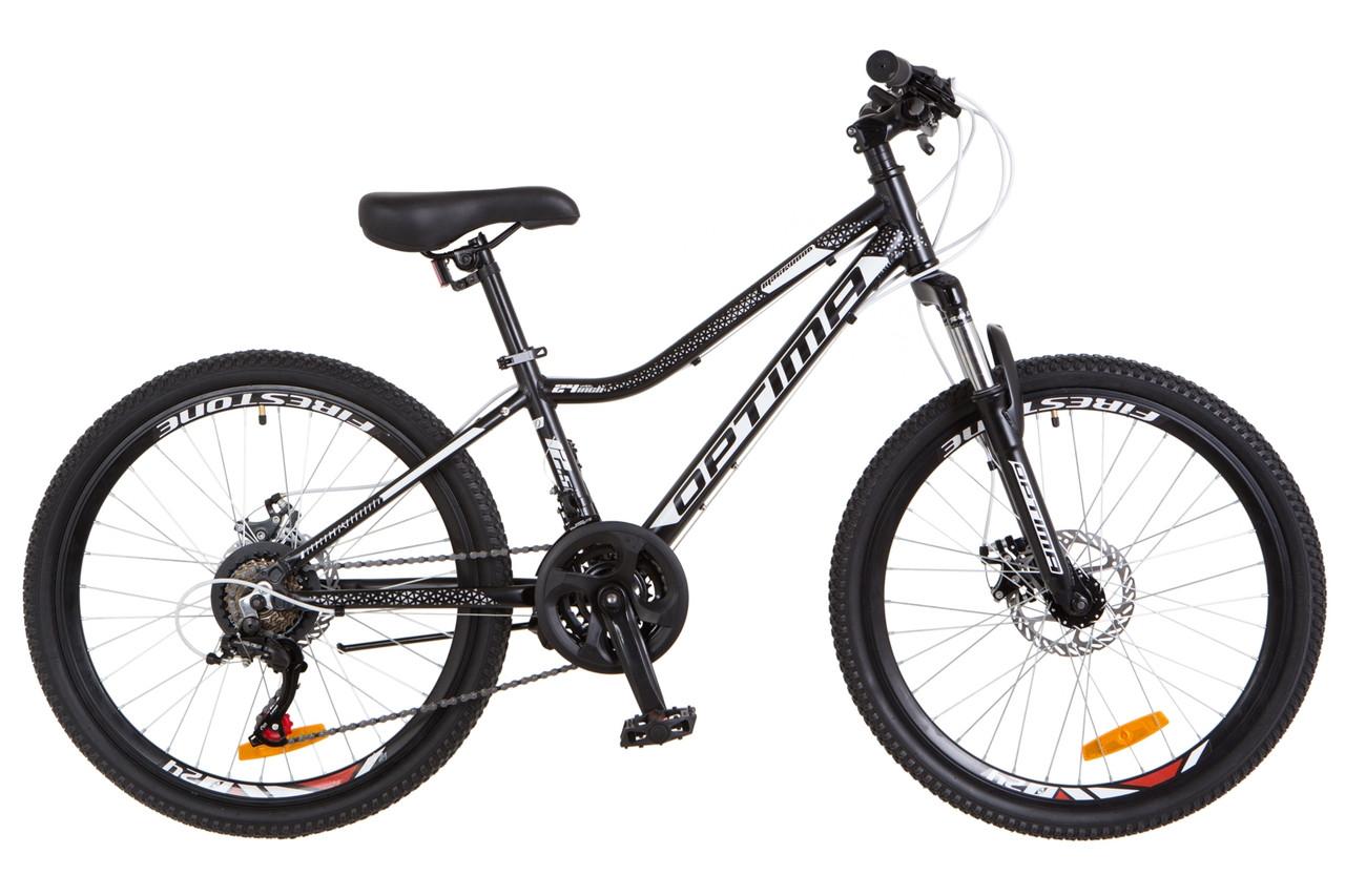 """Підлітковий велосипед Optimabikes Blackwood 24"""" 2018"""