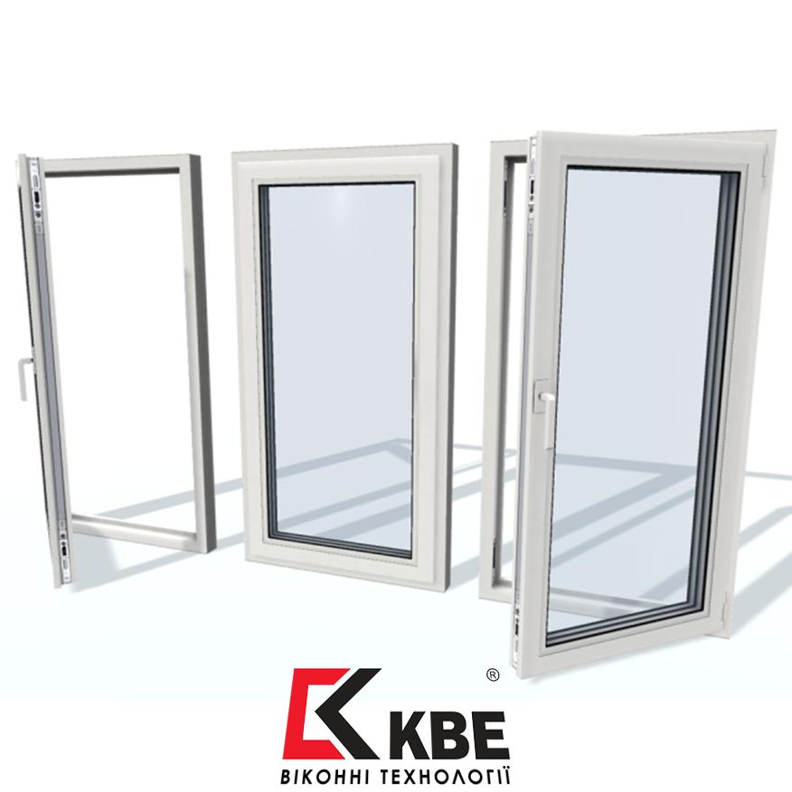 Металопластикові вікна KBE Optima