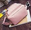 Стильный портфель женский коричневый, фото 5