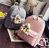 Стильный портфель женский коричневый, фото 8