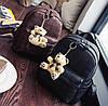 Стильный портфель женский коричневый, фото 9