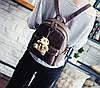 Стильный портфель женский коричневый, фото 2