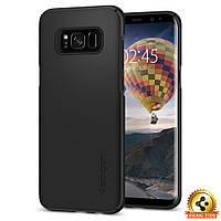 Чехол Spigen для Samsung S8 Thin Fit, Black, фото 1