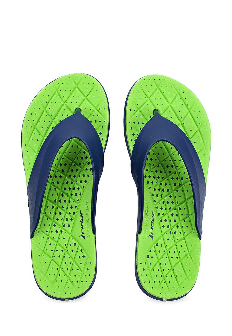 Оригинал Вьетнамки мужские 82208-23563 Rider infinity Thong Blue/Green Зеленые
