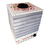 Электросушилка металлическая для фруктов и овощей «ПРОФИТ-М» 35л